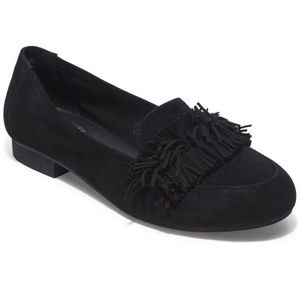 NWT Adam Tucker by Me Too Marcela Fringe Loafer